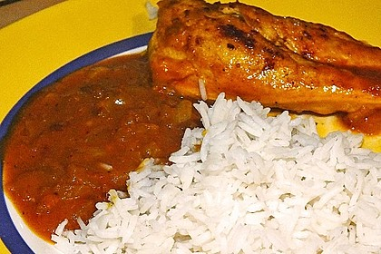 Hähnchen - Curry mit Apfelsoße 33