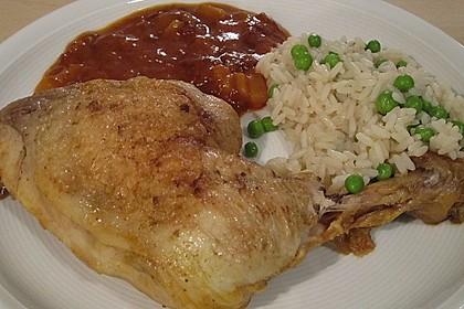 Hähnchen - Curry mit Apfelsoße 13