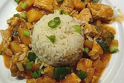 Hähnchen - Curry mit Apfelsoße 0
