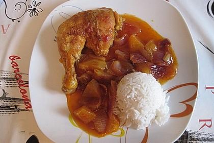 Hähnchen - Curry mit Apfelsoße 20