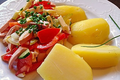 Schweizer Wurstsalat a la Uschi 16
