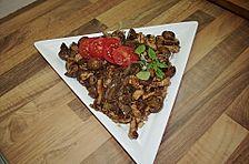 Schweinefilet mit Pilzen, asiatisch angehaucht