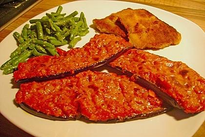 Auberginen mit Tomatensugo und Parmesan überbacken 29