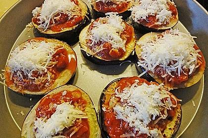 Auberginen mit Tomatensugo und Parmesan überbacken 37