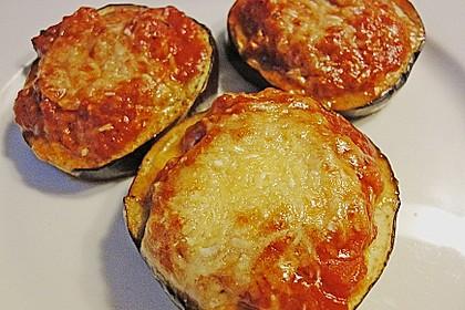 Auberginen mit Tomatensugo und Parmesan überbacken 9