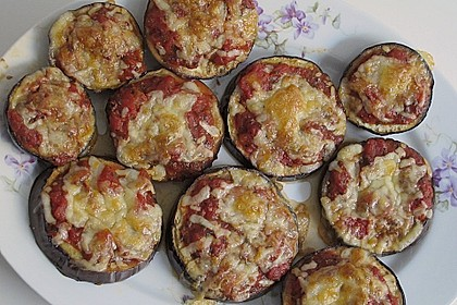 Auberginen mit Tomatensugo und Parmesan überbacken 8