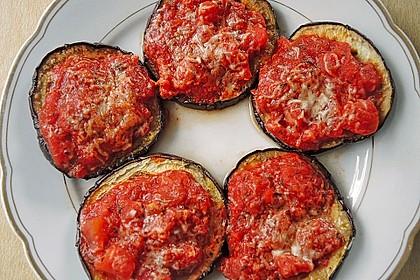 Auberginen mit Tomatensugo und Parmesan überbacken 15
