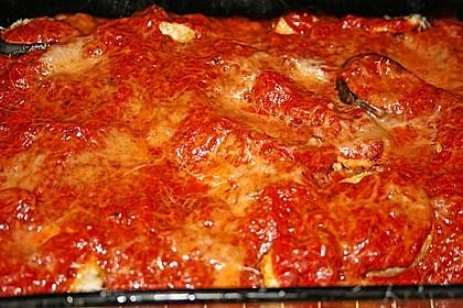 Auberginen mit Tomatensugo und Parmesan überbacken 32