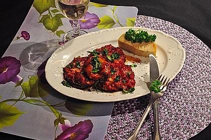 Auberginen mit Tomatensugo und Parmesan überbacken 34