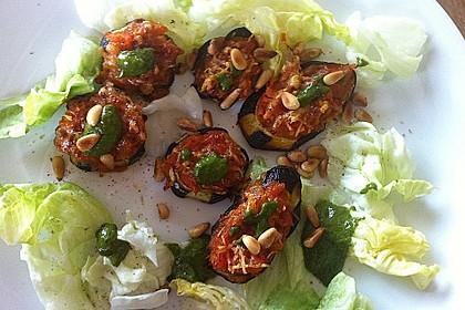 Auberginen mit Tomatensugo und Parmesan überbacken 22