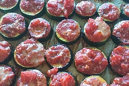 Auberginen mit Tomatensugo und Parmesan überbacken 23