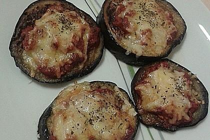 Auberginen mit Tomatensugo und Parmesan überbacken 20