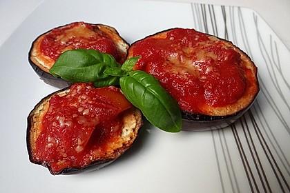 Auberginen mit Tomatensugo und Parmesan überbacken 3