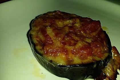 Auberginen mit Tomatensugo und Parmesan überbacken 24