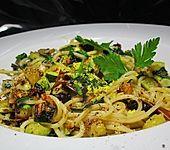 Italialadys Spaghetti con Zucchini e Limone