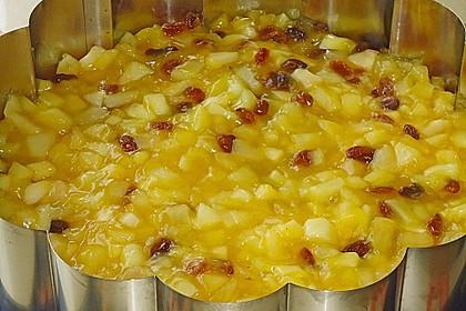 Walnuss - Honig - Butterkuchen mit Äpfeln 4