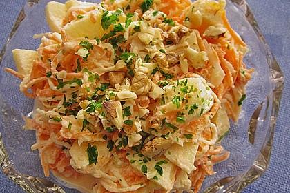 Karotten - Sellerie - Apfel - Salat 5