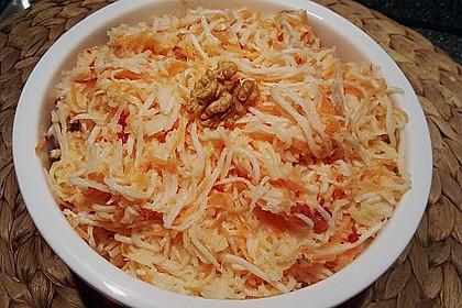 Karotten - Sellerie - Apfel - Salat 8