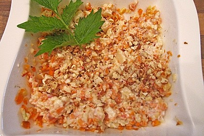 Karotten - Sellerie - Apfel - Salat 16