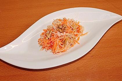 Karotten - Sellerie - Apfel - Salat 6