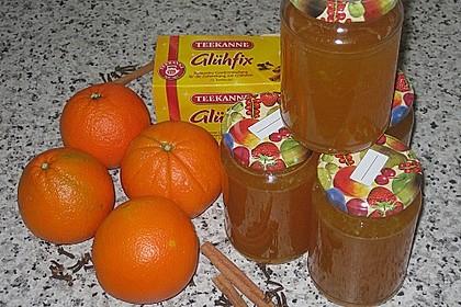 Weihnachtliches Orangengelee 3
