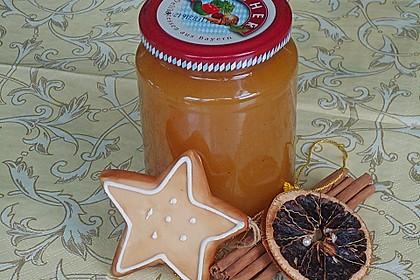 Weihnachtliches Orangengelee