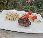 Zucchini - Tomaten - Zwiebel - Gemüse