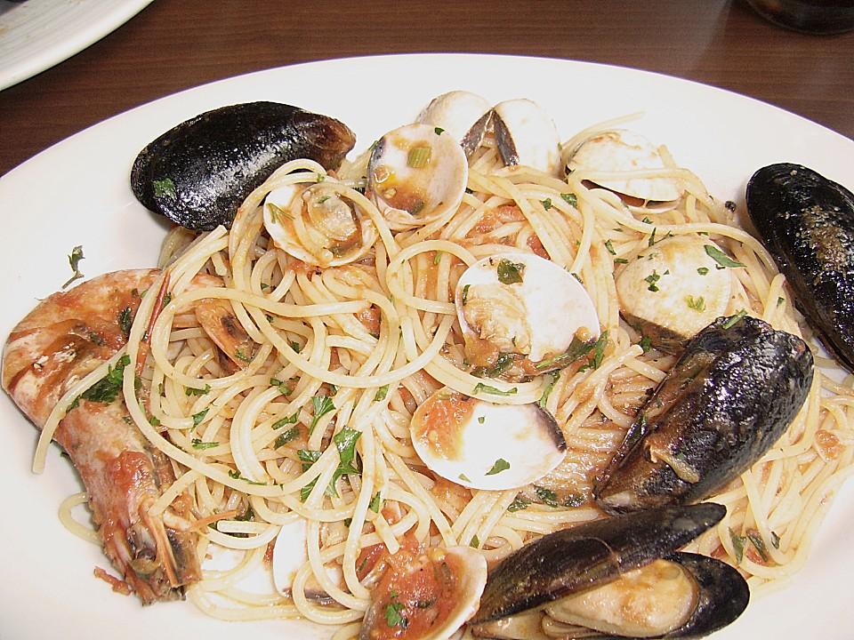 Spaghetti Frutti di Mare (Rezept mit Bild) von reina   Chefkoch.de