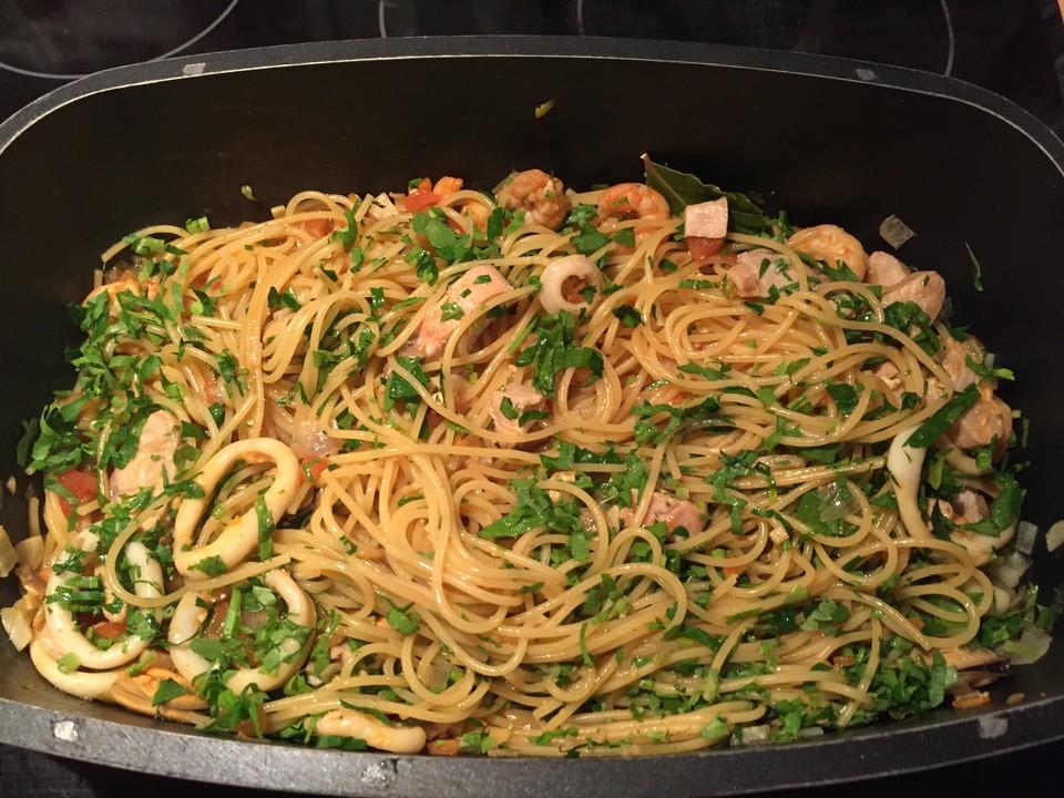 Spaghetti Frutti di Mare (Rezept mit Bild) von reina | Chefkoch.de