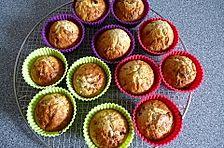 Haferflocken - Honig - Muffins