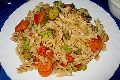 Italienische Gemüse - Nudeln 1