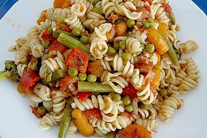 Italienische Gemüse - Nudeln