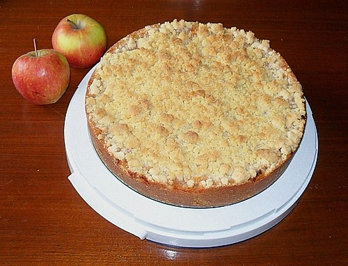 cox orange apfel streusel