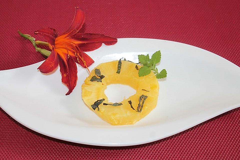 Gegrillte Ananas 2