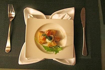 Parmesansterne mit Tomaten und Oliven 36