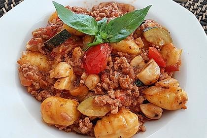 gnocchi mit hackfleisch