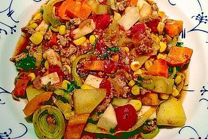 Bunter Hackfleisch - Gemüse - Eintopf 14