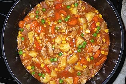 Bunter Hackfleisch - Gemüse - Eintopf 36