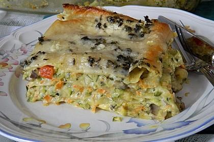 Gemüse - Lasagne a la Mäusle