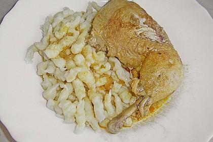 Ungarisches paprikahuhn von drk chefkoch for Ungarisches paprikahuhn