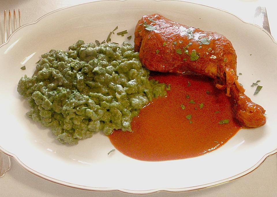Ungarisches paprikahuhn rezept mit bild von drk chefkoch for Ungarisches paprikahuhn