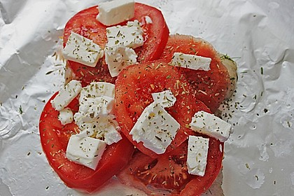 Folienfisch mit Feta und Tomaten 4