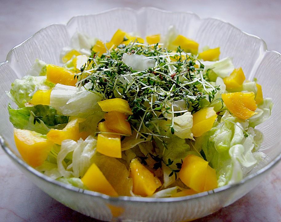 eisbergsalat mit leckerem salatdressing von superbanane08. Black Bedroom Furniture Sets. Home Design Ideas