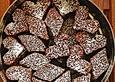 Lebkuchen - Brownie - Sterne