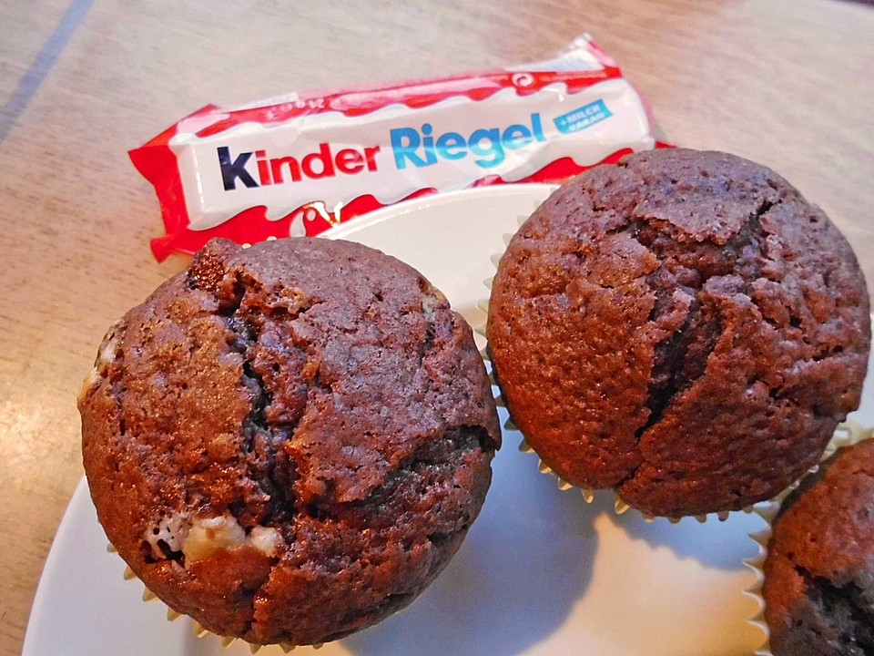 kinderschokolade muffins rezept mit bild von lena. Black Bedroom Furniture Sets. Home Design Ideas
