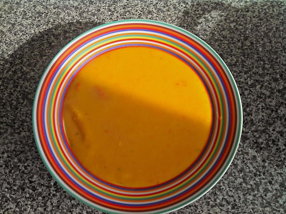 Kürbissuppe Mit Kokosmilch (Rezept Mit Bild) Von Einealtetante