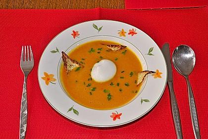 Kürbissuppe mit Kokosmilch 5