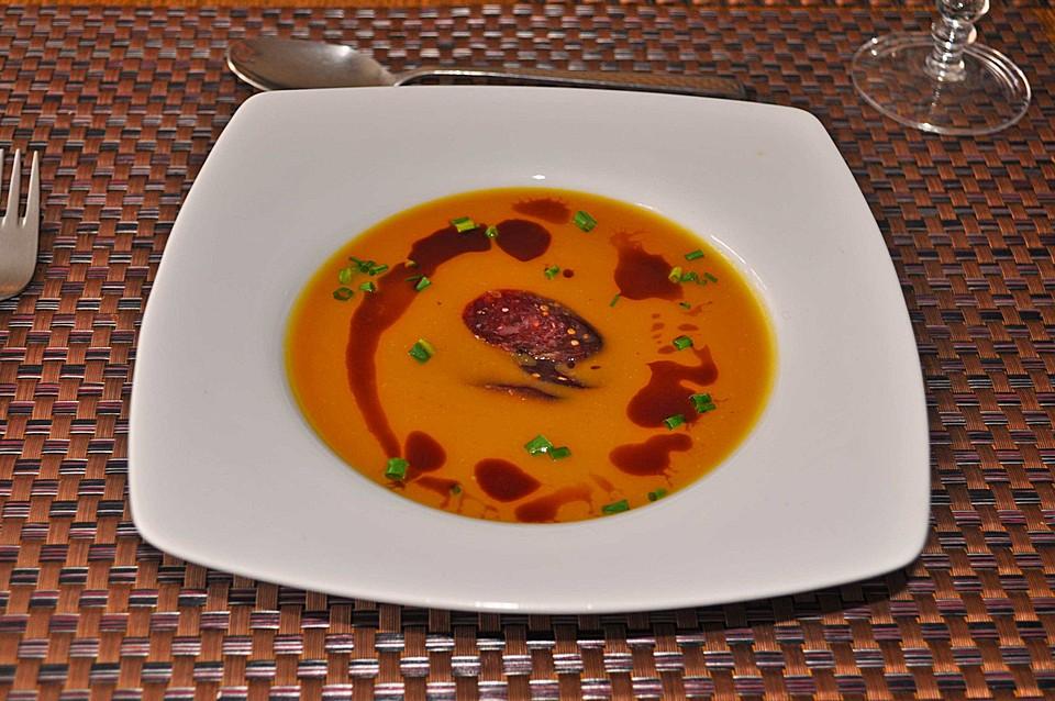kürbissuppe mit kokosmilch (rezept mit bild) von einealtetante ... - Kürbissuppe Rezept Chefkoch