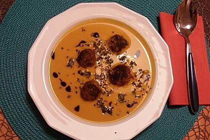 Kürbissuppe mit Kokosmilch 11