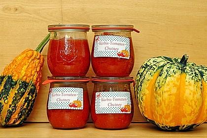 Kürbis - Tomaten - Chutney von Rosinenkind 1